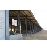 内蒙古小麦庞大的仓库