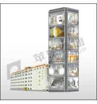楼房结构成套面粉机组