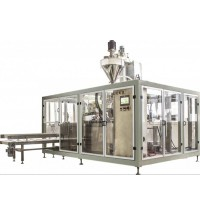 GD5-S2全自动面粉单\双工位无纺布上袋机