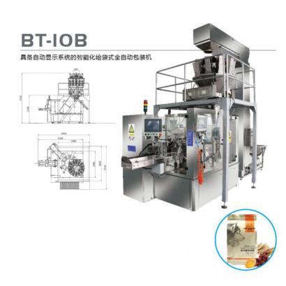 BT-10B 具备自动显示系统的智能化给袋式全自动包装机