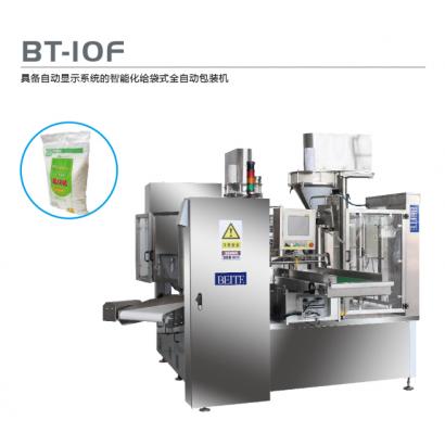 BT-10F 具备自动显示系统的智能化给袋式全自动包装机